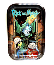Rick and Morty Dungeon Master Magnetic Top Rolling Tray