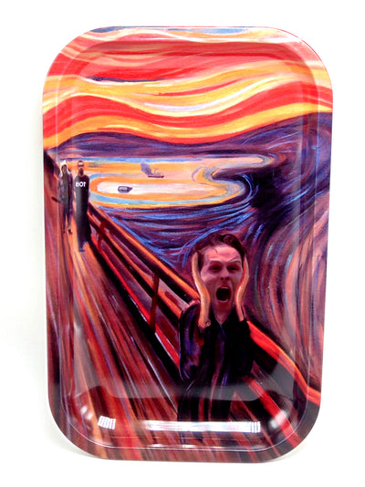 It's Always Sunny in Paintings Magnetic Top Rolling Tray