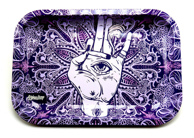 All Seeing Eye Magnetic Top Rolling Tray