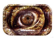 Mushroom Dragon Eye Magnetic Top Rolling Tray