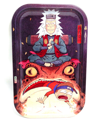 Jiraiya Rick and Morty Magnetic Top Rolling Tray