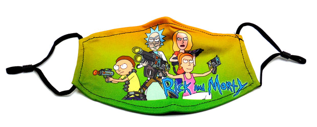 rick and morty, mask, face mask, colorado, denver head shop