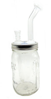 Lightning Jug Mason Jar Tobacco Water Pipe