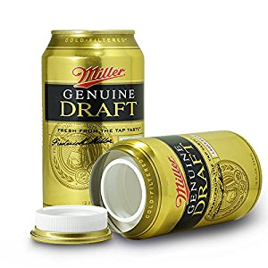 Miller Genuine Draft Safe Can