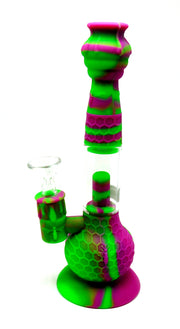Silicone Nectar Collector / Tobacco Water Pipe Combo