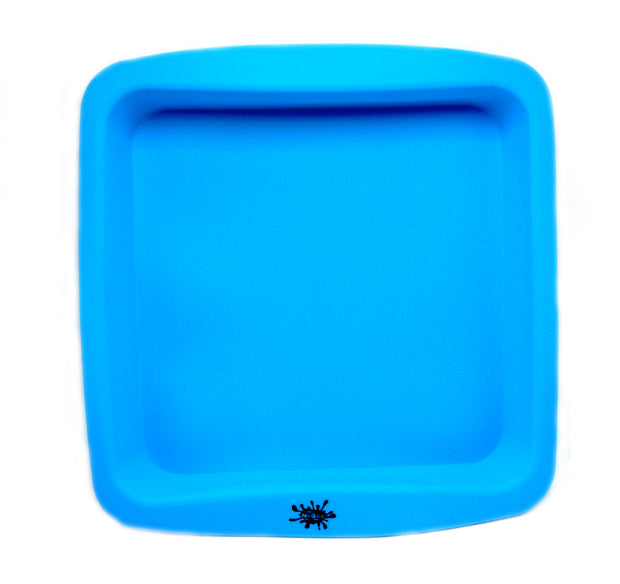 Large Silicone Square Plate