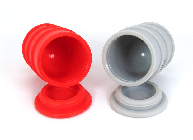 Oil Barrel Silicone Jar