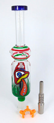Mushroom Eye 6-Arm Tree Perc Nectar Collecter