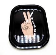 Peace Hand Rolling Tray