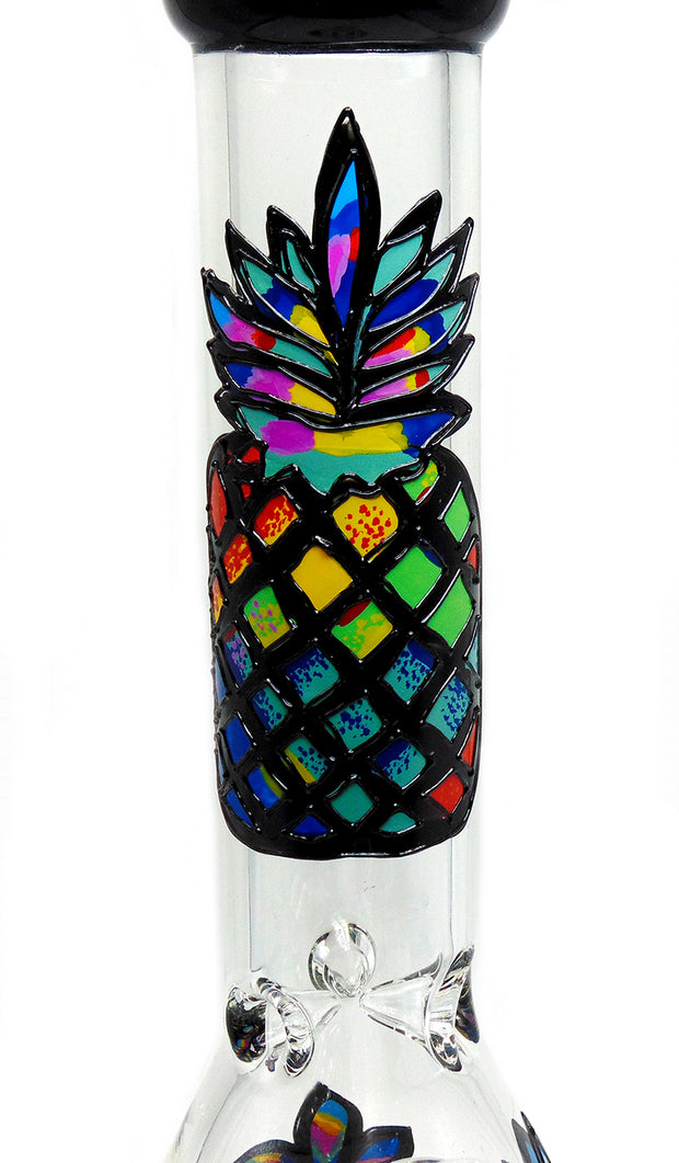 "14"" Pineapple Beaker Tobacco Water Pipe"