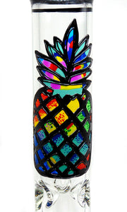"14"" Pineapple Straight Tobacco Water Pipe"