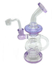 Purple Connected Shower Head Recycler