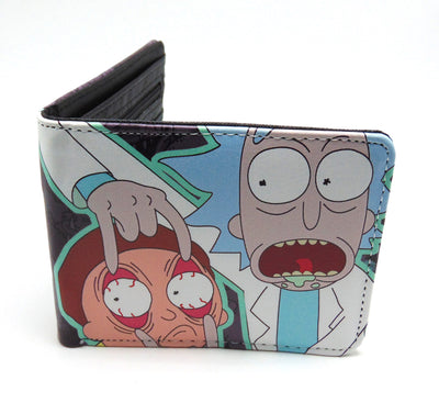 Rick and Morty Peering Eyes Wallet