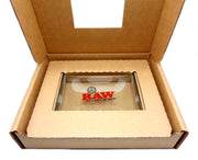 RAW Double Thick Glass Rolling Tray Small