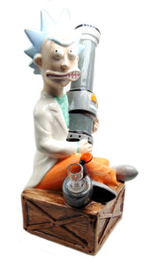 Grandpa Rick Ceramic Tobacco Water Pipe