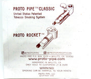proto pipe, mendo pipe, proto rocket, made in USA, colorado, denver head shop