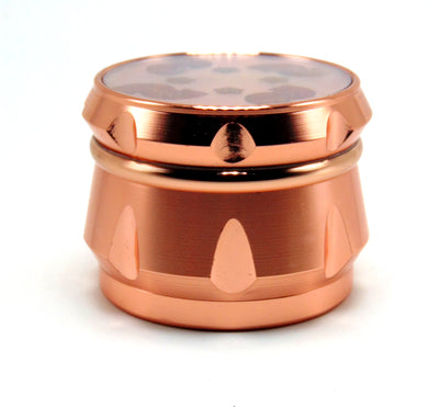 4-Piece Rose Gold Grinder