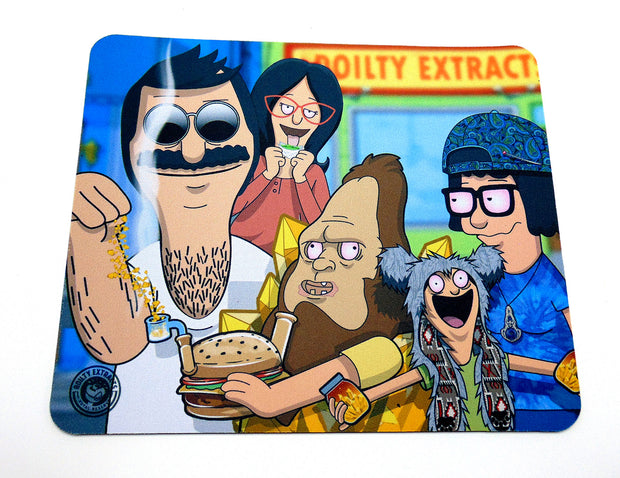 """Salt Bob""s Burgers Glass Protection Mat"