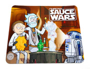 Rick and Morty Sauce Wars Glass Protection Mat