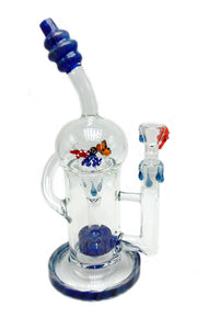 Sea Themed Recycler Tobacco Water Pipe