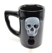 Skull 8oz Ceramic Mug Pipe