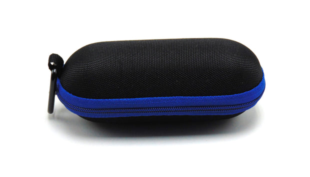 Small Hard Shell Blue Padded Pipe Case