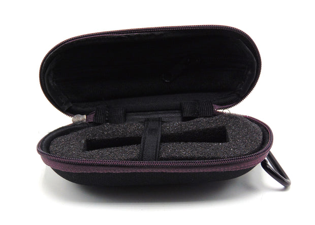 Small Hard Shell Maroon Padded Pipe Case