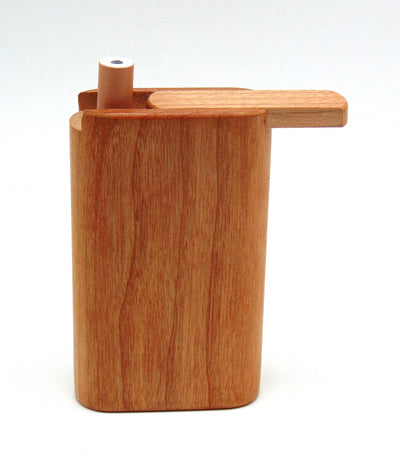 Small Teak Wood Slider Dugout