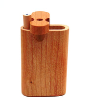 Small Teak Wood Swivel Dugout