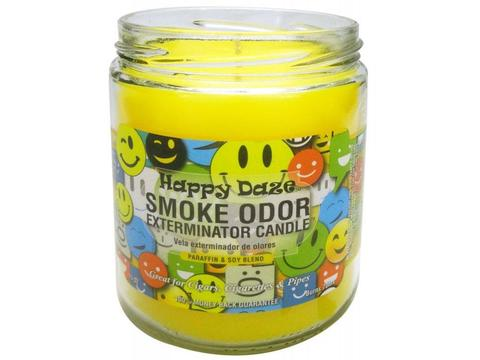 "Smoke Odor Exterminator Candle ""Happy Daze"""