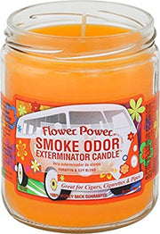 "Smoke Odor Exterminator Candle ""Flower Power"""