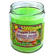 "Smoke Odor Exterminator Candle ""Hippie Love"""