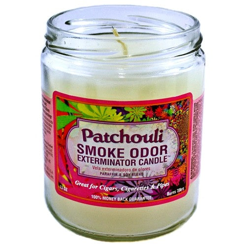 "Smoke Odor Exterminator Candle ""Patchouli"""