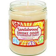 "Smoke Odor Exterminator Candle ""Sandalwood"""