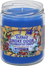 "Smoke Odor Exterminator Candle ""Tatted"""