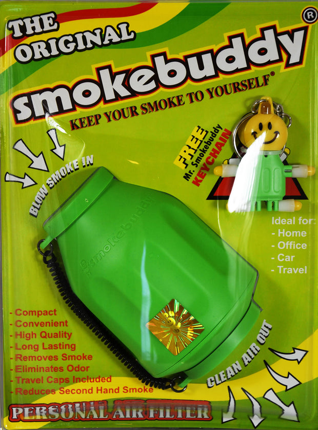 Smoke Buddy Green