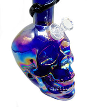 skull bong, soft glass, denver head shop