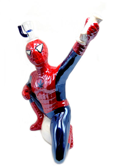 Ceramic Spiderman Tobacco Water Pipe