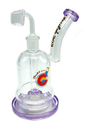 GlassLab 303 Squished Can UV Lace Perc Oil Rig