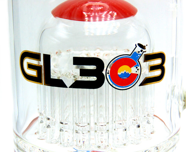 GlassLab 303 Laced 20-Arm Tree Tobacco Water Pipe