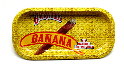 Banana Backwoods Magnetic Top Rolling Tray