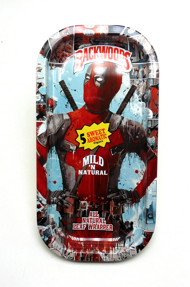 Deadpool Magnetic Top Rolling Tray