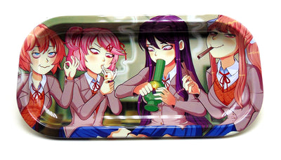 School Girl Sesh Magnetic Top Rolling Tray