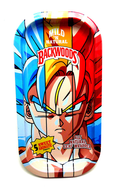 3-Color Goku Magnetic Top Rolling Tray