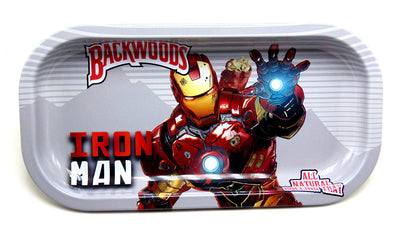 Iron Man Magnetic Top Rolling Tray