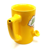 "Ceramic Mug Pipe 8oz ""Good Morning"""