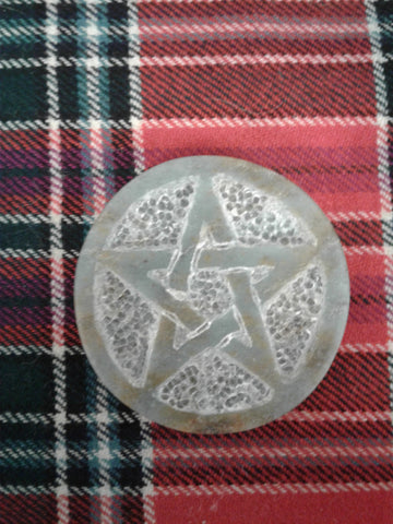 Soap Stone Mini Pentacle