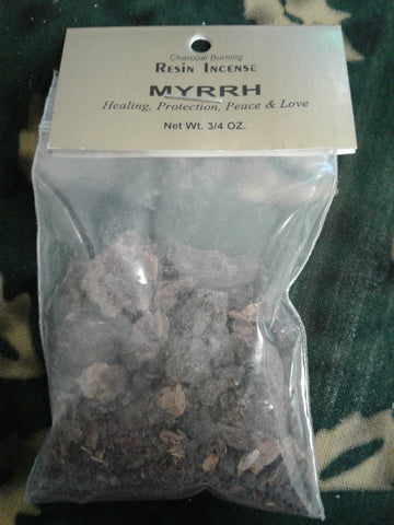 Myrrh Resin