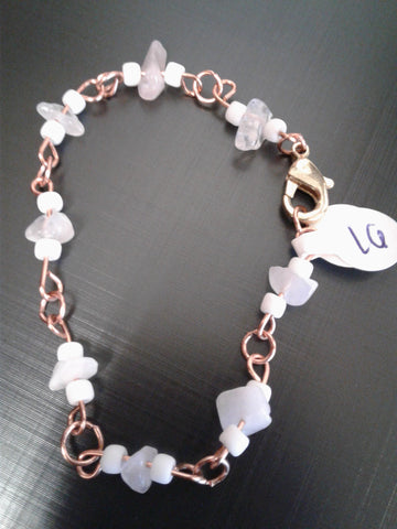 16 - Rose quartz and Copper