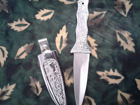 Engraved Athame
